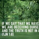 1John 1:8 License to sin?