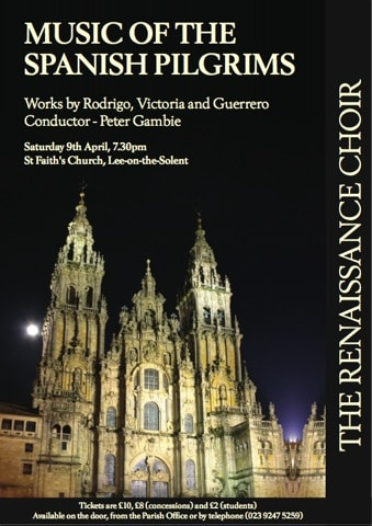 """Review: """"Music of the Spanish pilgrims"""" – Lee-on-Solent, April 2011"""
