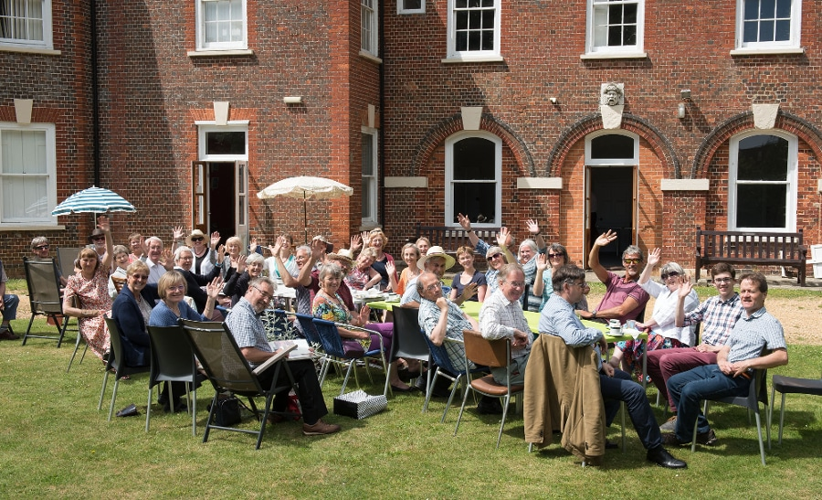 Visit to Dorset to mark MD Peter Gambie's 25 years with the choir, June 2017