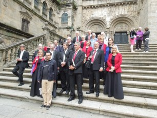 Santiago Cathedral, On tour to Galicia