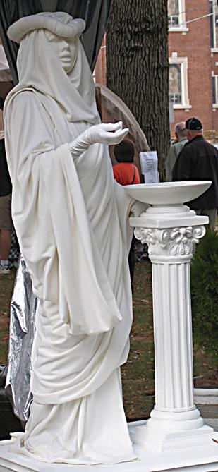 Enchanted statue