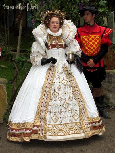 Queen Elizabeth at the Tennessee Renaissance Festival