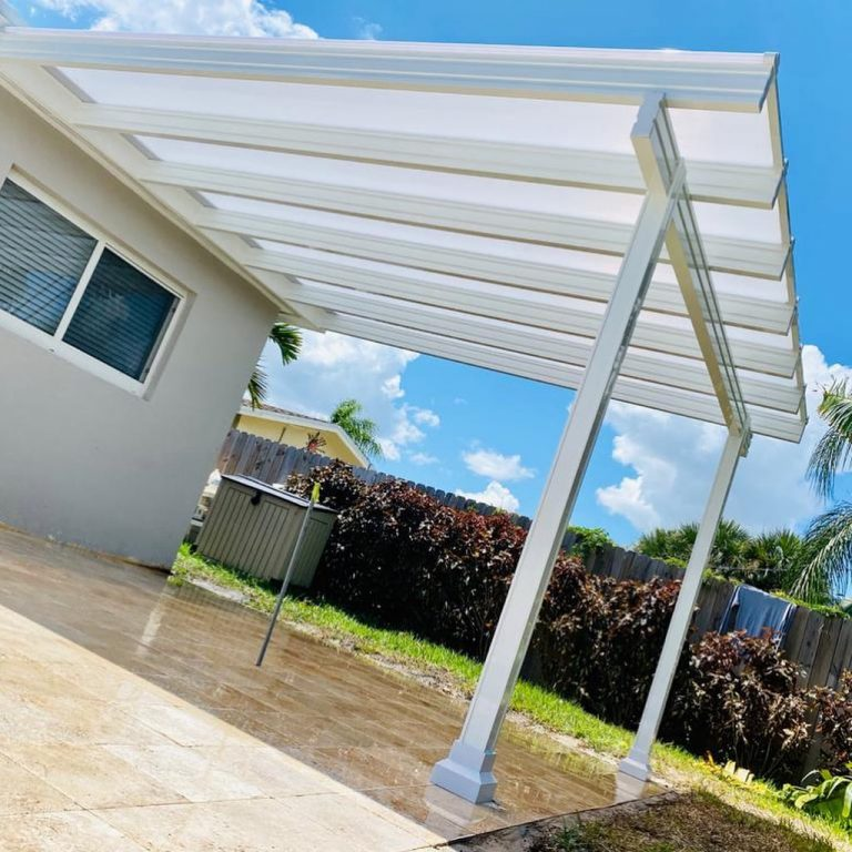 translucent patio roof panels let in