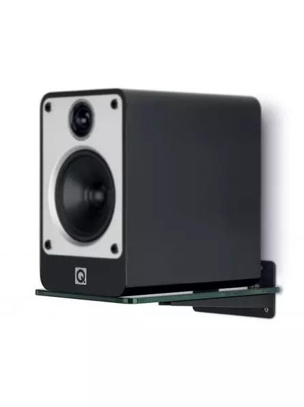 q acoustics supports muraux en verre