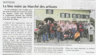 Marché artisanal Sottens - L'Echo du Gros-de-Vaud