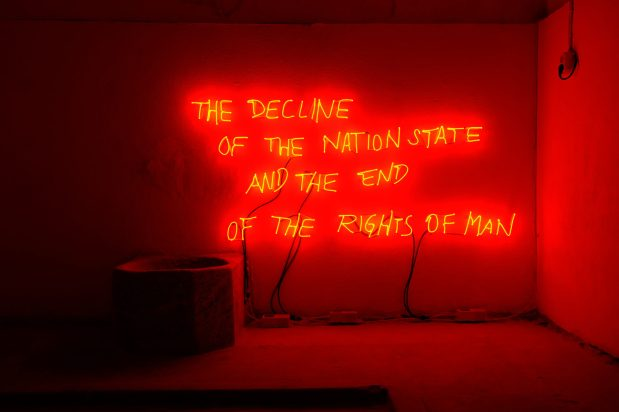 Margherita Moscardini , The Decline of the Nation State and the End of the Rights of Man (2018)