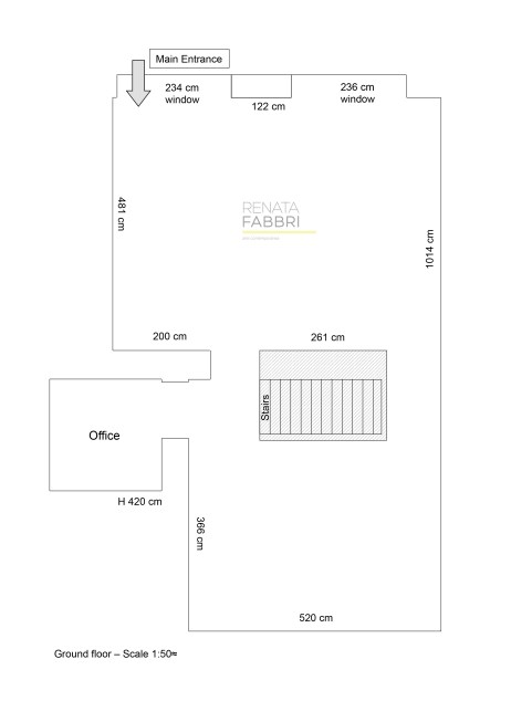 Gallery ground floor map