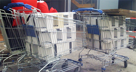 Ein liten shoppingrunde på IKEA