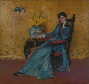 William Merritt Chase, Miss Dora Wheeler, 1881-1883