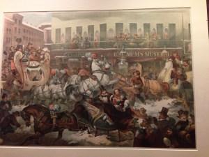 PT Barnum lithograph, museum