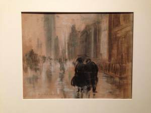 Everett Shinn Fifth Ave 1910