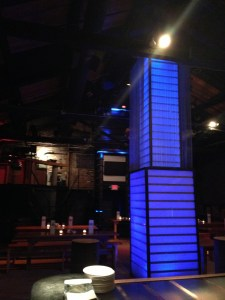 The party space at Bar