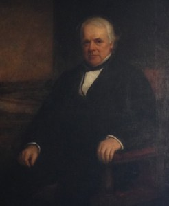 This portrait of Mr. Francis hangs in the Whistler birthplace home and museum
