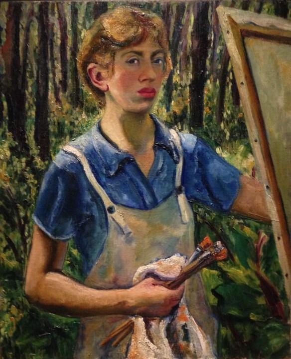 Lee Krasner, Self-Portrait, 1939