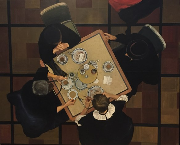 Richard Estes, Automat, c1971, oil on masonite