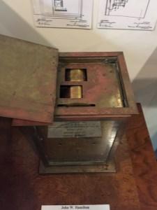 A Braille Clock