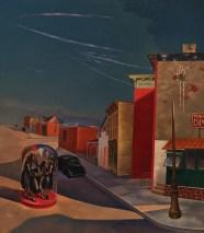 Louis Guglielmi, Terror in Brooklyn, 1941 Earlier than Tooker's stunning work