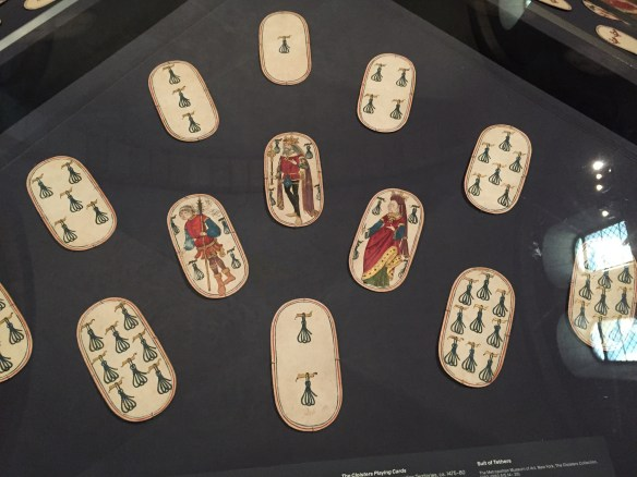Suit of Tethers, The Cloisters Playing Cards
