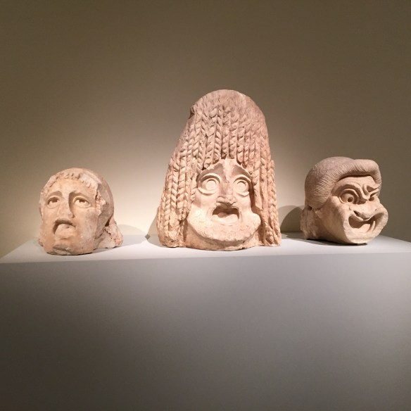 Greek theatrical masks