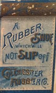Mid-1800s N. Hayward & Co. shoe advertisement