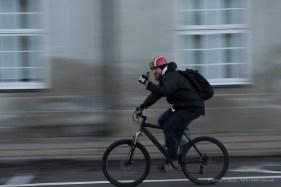 Biker in Copenaghen, 2015 - Nikon D810, 70mm (24-70mm ƒ/2.8) 1/20sec ƒ/14 ISO 800
