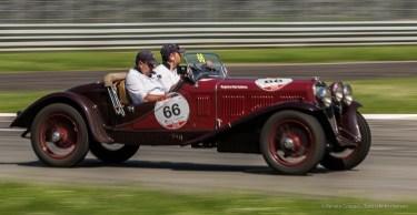Secondi classificati Andrea Vesco e Andrea Guerini, su FIAT 514 MM del 1930 - Nikon D810, 85mm (85.0mm ƒ/1.4) 1/30 ƒ/10 ISO 64