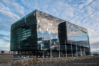 Harpa Reykjavik Concert Hall and Conference Centre. Nikon D810, 24.0mm (24.0mm ƒ/1.4) 1/40sec ƒ/6.3 ISO 64