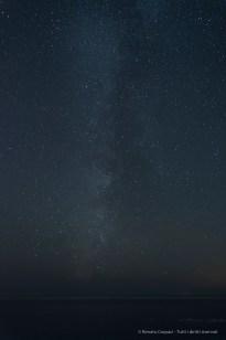 The Milky Way from Manarola. Nikon D810, 24mm (24 mm ƒ/1.4) 30 sec ƒ/2.8 ISO 800