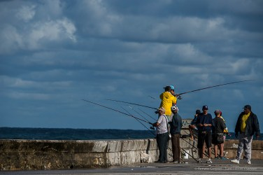 "More fishing from the Casillo de San Salvador de la Punta. Nikon D750, 320 mm (80-400.0 mm ƒ/4.5-5.6) 1/400"" ƒ/10 ISO 100"