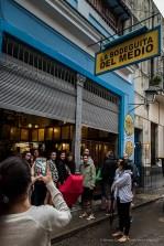 "La Bodeguita del Medio, unavoidable stop for fans of Ernest Heminguay. Nikon D810, 24 mm (24-120.0 ƒ/4) 1/100"" ƒ/5.6 ISO 2000."