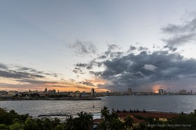 "The sunset over the Habana skyline from the Castillo del Morro. Nikon D810, 20 mm (20.0 ƒ/1.8) 1/13"" ƒ/9 ISO 64."