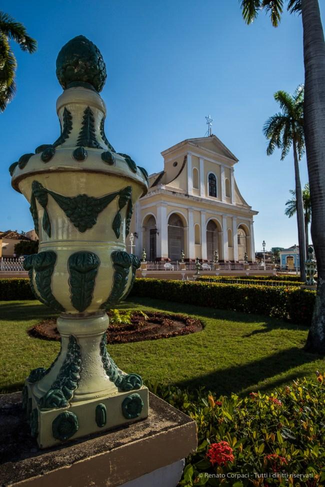 "Trinidad, Plaza Mayor with the Santisima Trinidad in the background. Nikon D810, 20 mm (20.0 ƒ/1.4) 1/200"" ƒ/8 ISO 64"
