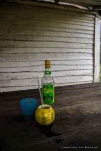 """Sugarcane juice, Ron and pineapple just out of the fruit. Nikon D810, 24 mm (24-120.0 ƒ/4) 1/100"""" ƒ/5.0 ISO 400"""