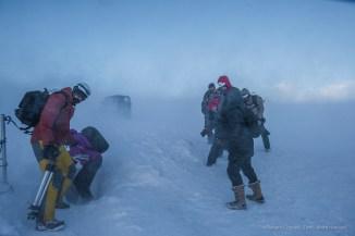 "Entrance to the ice-cave, under the Breiðamerkurjökull glacier, amid a wind blizard. D810 24 mm (24.0 mm ƒ/1.4) 1/1600"" ƒ/13 ISO 2500"