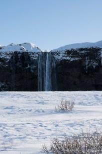 """Seljalandsfoss, Iceland. Nikon D810, 85 mm (85.0 ƒ/1.4) 1/125"""" ƒ/16 ISO 160"""