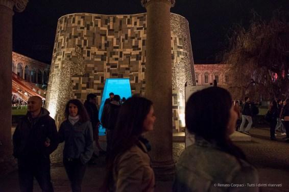 """Università Statale di Milano, """"Open Borders"""" by Interni Magazine. Nikon D810 24mm (24 mm ƒ/1.4) 1/ ƒ/1,4 ISO 12800"""