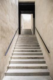 """Stairways to the upper floors. Nikon D810, 24 mm (24.0 mm ƒ/1.4) 1/125"""" ƒ/2.2 ISO 3200"""