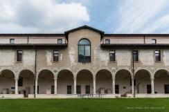 "Renaissance cloister of the monastery and church of Santa Giulia. XV sec. Nikon D810, 24 mm (24-120.0 mm ƒ/4) 1/250"" ƒ/5.6 ISO 64"