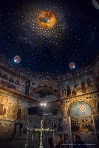 """The round chapel of Santa Maria in Solario, Nikon D810, 24 mm (24-120.0 mm ƒ/4) 1/60"""" ƒ/4 ISO 12800"""