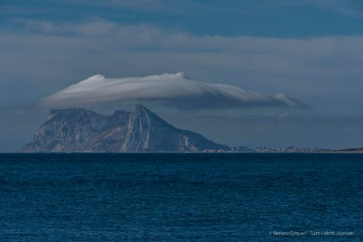 Gibraltar viewed from the pier in Sotogrande. Nikon D750, 200 mm (80-400 mm ƒ/4.5-5.6) 1/320 ƒ/11 ISO 100