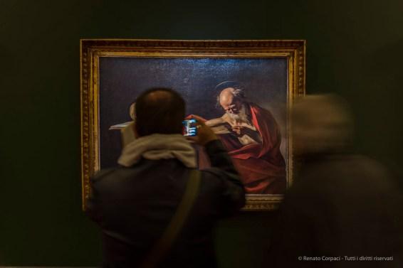 "Caravaggio, ""San Girolamo scrivente"", 1606. Biblioteca Ambrosiana, Sala Federiciana. Nikon D750, 24 mm (24-120 mm ƒ/4) 0,6"" ƒ/4 ISO 640"