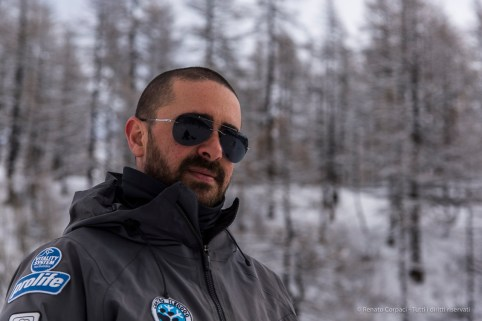 "Sami Sami, instructor. Avouil, Centro Sleddog Cervinia. Nikon D810 82 mm (24-120.0 mm ƒ/4) 1/800"" ƒ/5 ISO 64"