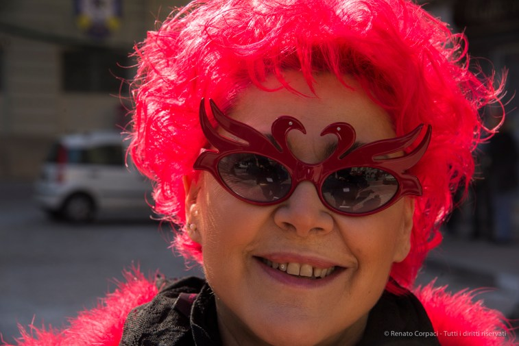 "A citizen of Ivrea during Carnival. Nikon D810, 85 mm (24-120 mm ƒ/4) 1/400"" ƒ/10 ISO 400"