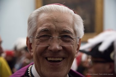 "Edoardo Aldo Cerrato, bishop of Ivrea. Nikon D810, 70 mm (24-120 ƒ/4) 1/125"" ƒ/4 ISO 6400"