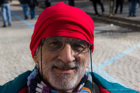 "A citizen of Ivrea during Carnival. Nikon D810, 85 mm (24-120 mm ƒ/4) 1/60"" ƒ/8 ISO 100"