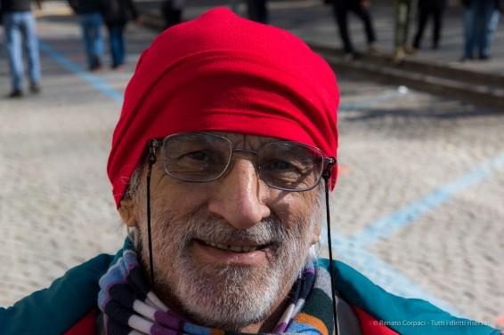 "A citizen of Ivrea during Carnival. Nikon D810, 85 mm (24-120 mm ƒ/4) 1/60"" ƒ/8 ISO 100"