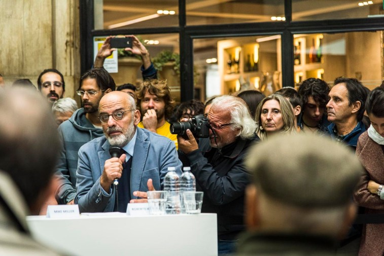 Contrasto boss Roberto Kock, Giuliano Leone, photographer Antonella Mezzani, photographer.