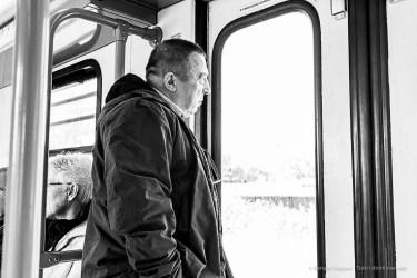 On the train to Ostia. Nikon D810, 35 mm (35.0 mm ƒ/2) 1/200 ƒ/8 ISO 2800