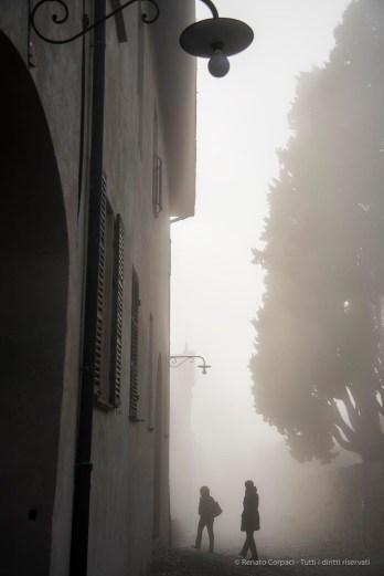 "Shadows in the Mist. Castle of Masino, near Ivrea, Italy. Nikon D810, 46 mm (24,120.0 mm ƒ/4) 1/640"" ƒ/4.5 ISO 64"