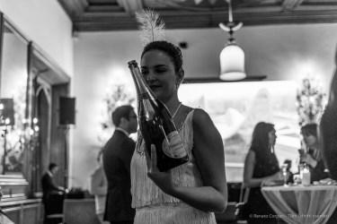 "Badrutt's Palace cocktail reception, Snow Polo World Cup, St. Moritz, January 2018. Nikon D810, 35 mm (35 mm ƒ/2) 1/125"" ƒ/2 ISO 800"